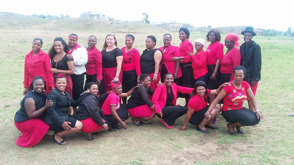 The ladies of Rutanang ka Lerato.