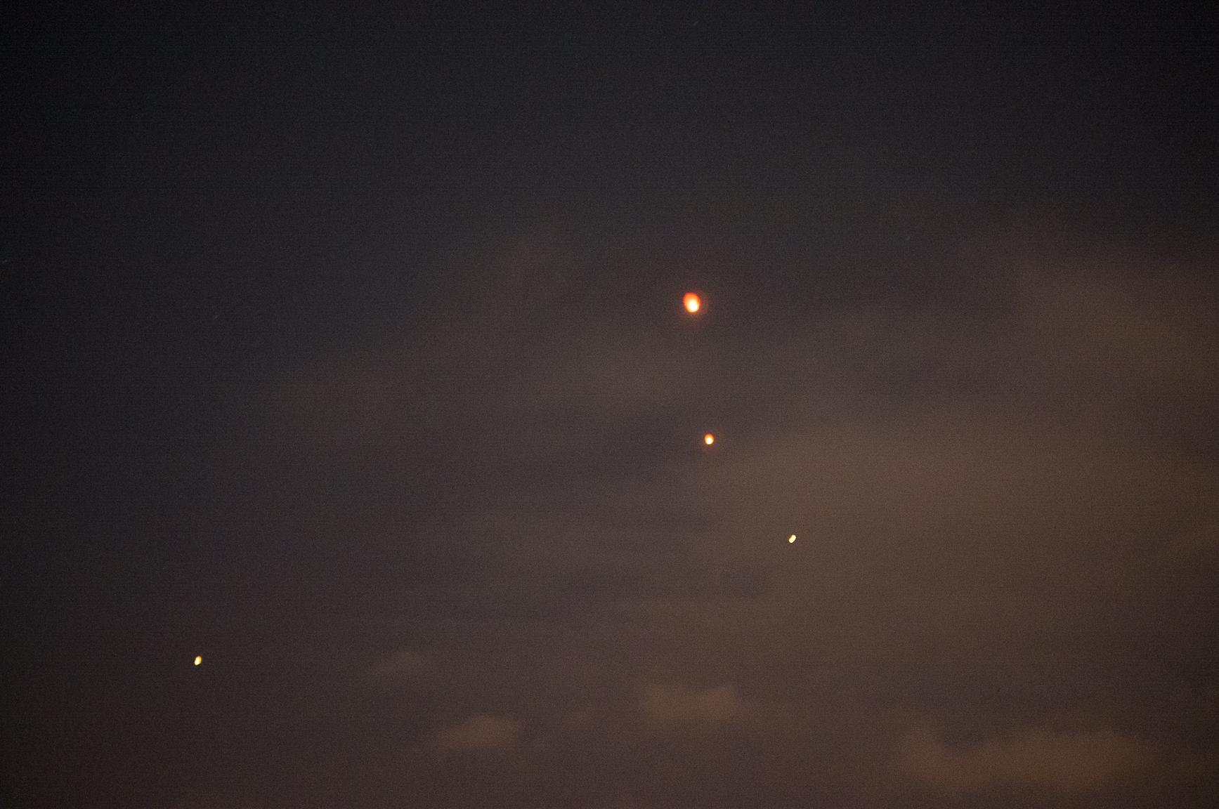 lights   November 2013 Kunming, Yunnan, China  digital capture