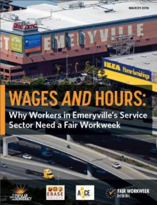 Wages and Hours: Why Emeryville's Service Sector Employees Need a Fair Workweek