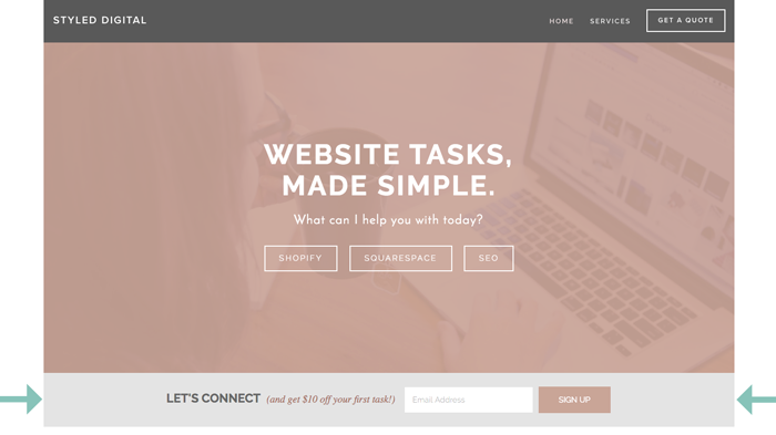 How To Tweak Your Newsletter Block In Squarespace House Of