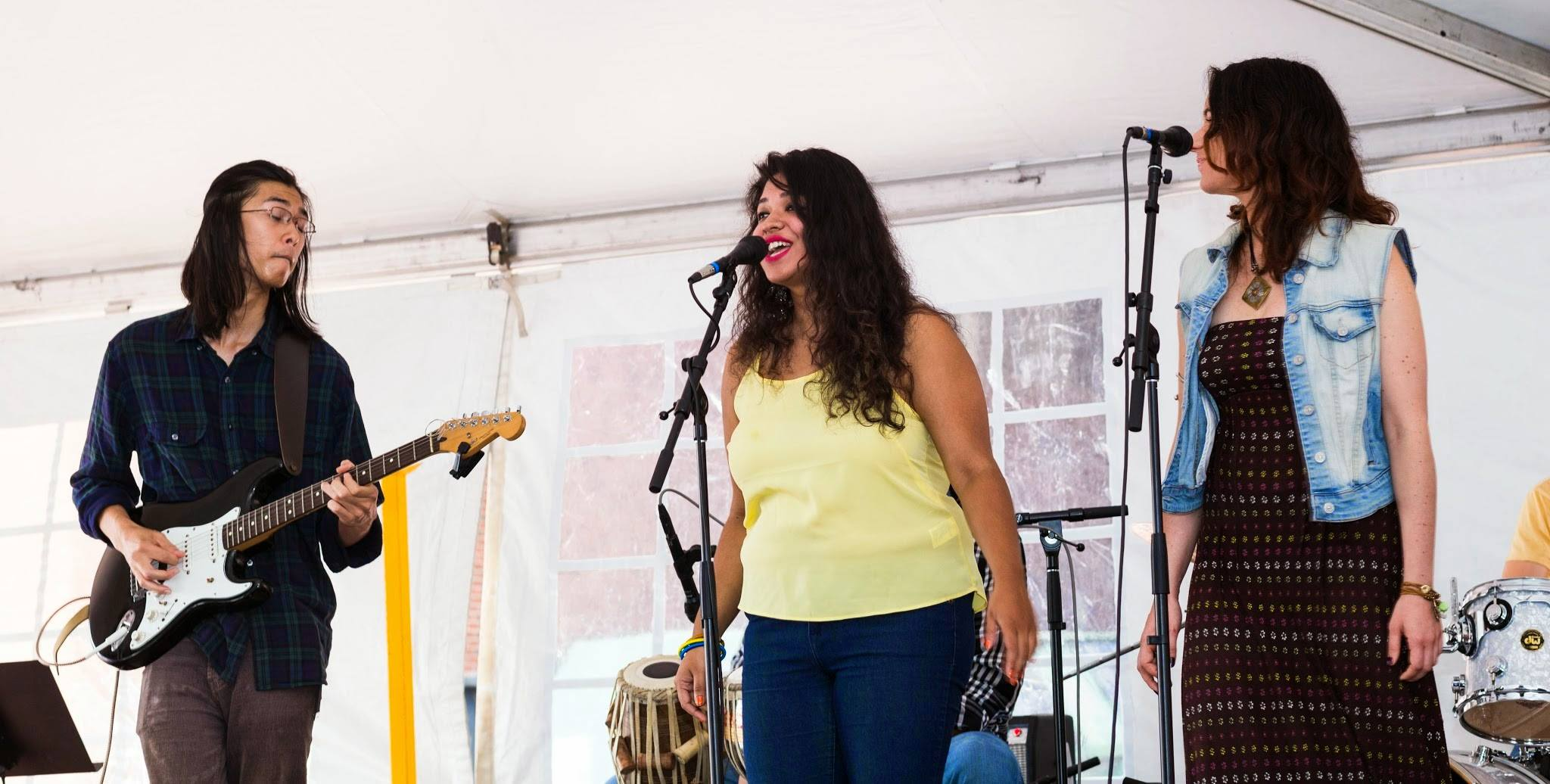 Armeen Musa Live at Greenfest - Boston, MA - July '14