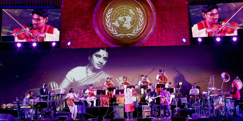 A.R. Rahman Live at the United Nations - Manhattan, NY - Aug '16