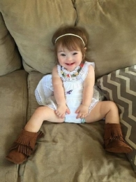 The adorable little girl who inspired her parents to speak out.