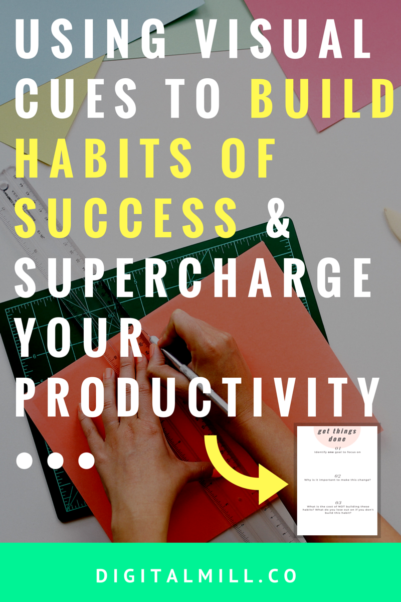 how to build habits of success