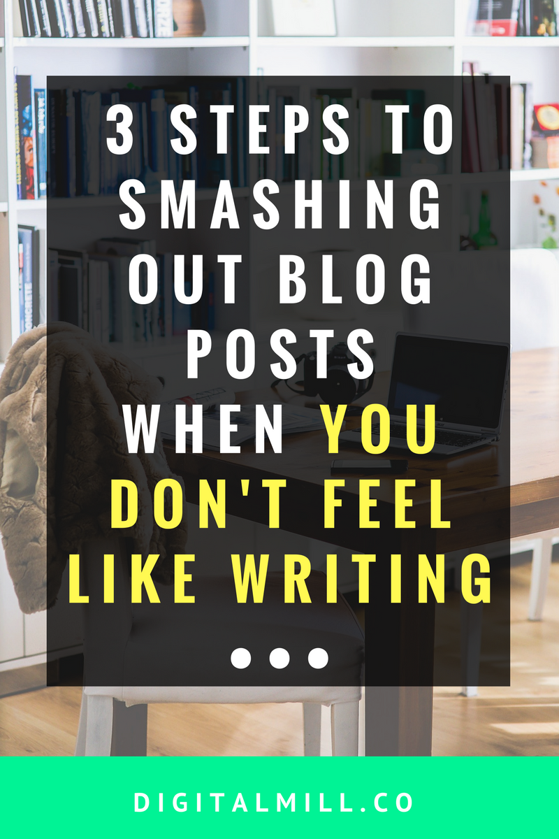 how to overcome blogging writer's block