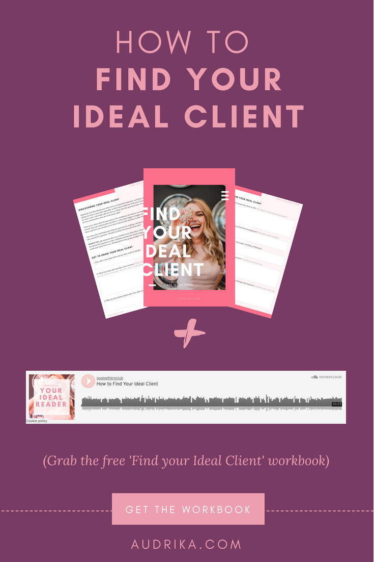 Struggling to find your ideal client? Click through to discover 4 reasons why it's important to find your ideal reader and 2 easy and fun ways to find your ideal reader with the free download - Find Your Ideal Client workbook. Read now or pin for later #blogging #onlinebusiness #content #editorialcalendar