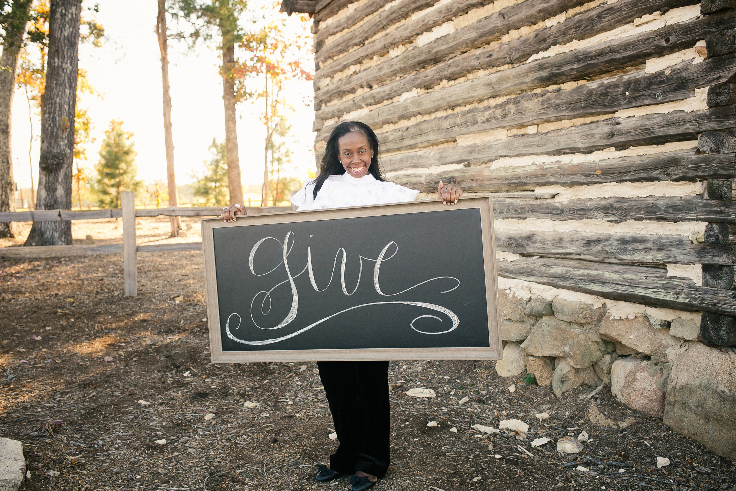 Why I Give | Tonya Taylor | The Gift Development Group | L'amour Foto
