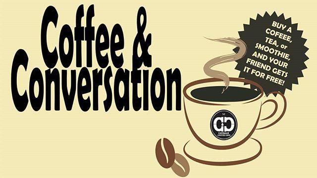 [Have a conversation about it] This Sunday at the Cave. . . . #cavemancoffeecave #cavemancoffeeco #coffee #caffeine #motivation #espresso #coffeeshop #local #howtosantafe #simplysantafe #downtownsantafe #santafeplaza #nmtrue #coffeelove #coffeefirst #latteart #latte #cappuccino #skisantafe #skibueno #latteart #holidays #coffeebeans #friends #friendship #conversation #tea #familytime #friendtime