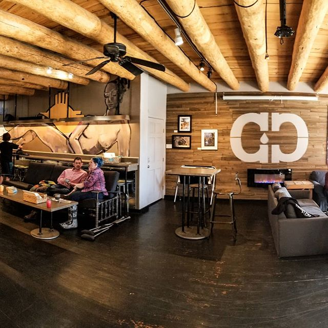 Cozy up at the Cave and enjoy a delicious cup! . . . #cavemancoffeecave #cavemancoffeeco #coffee #caffeine #motivation #espresso #coffeeshop #local #howtosantafe #simplysantafe #downtownsantafe #santafeplaza #nmtrue #coffeelove #coffeefirst #latteart #latte #cappuccino #skisantafe #skibueno #latteart #holidays  #coffeebeans #thirdwavecoffee #specialtycoffee