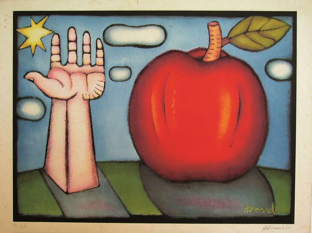 Mão e Maçã | Hand and Apple