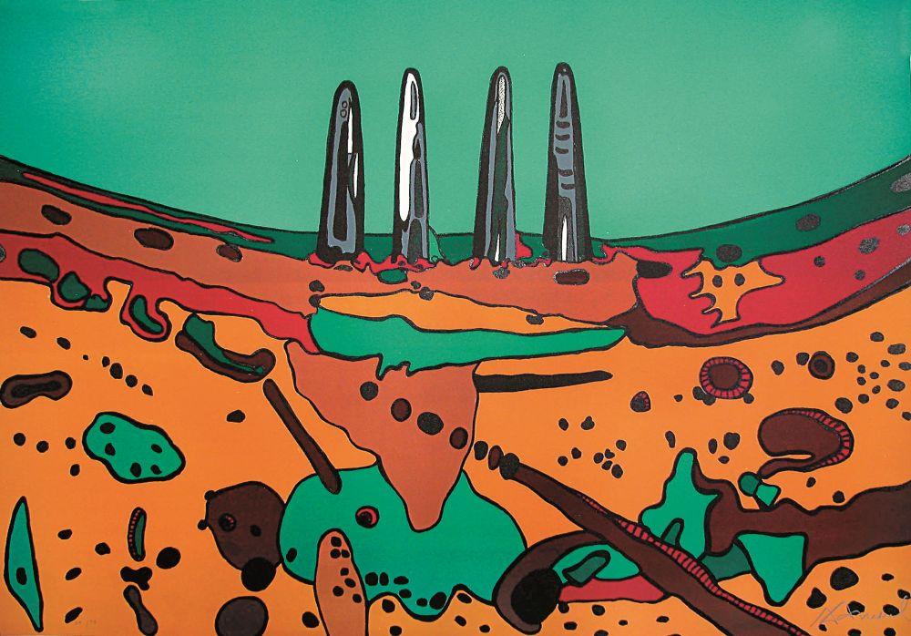 Paisagem com Metais I | Landscape with Metals I