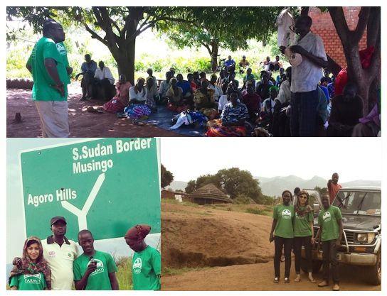 Field visit in North Uganda