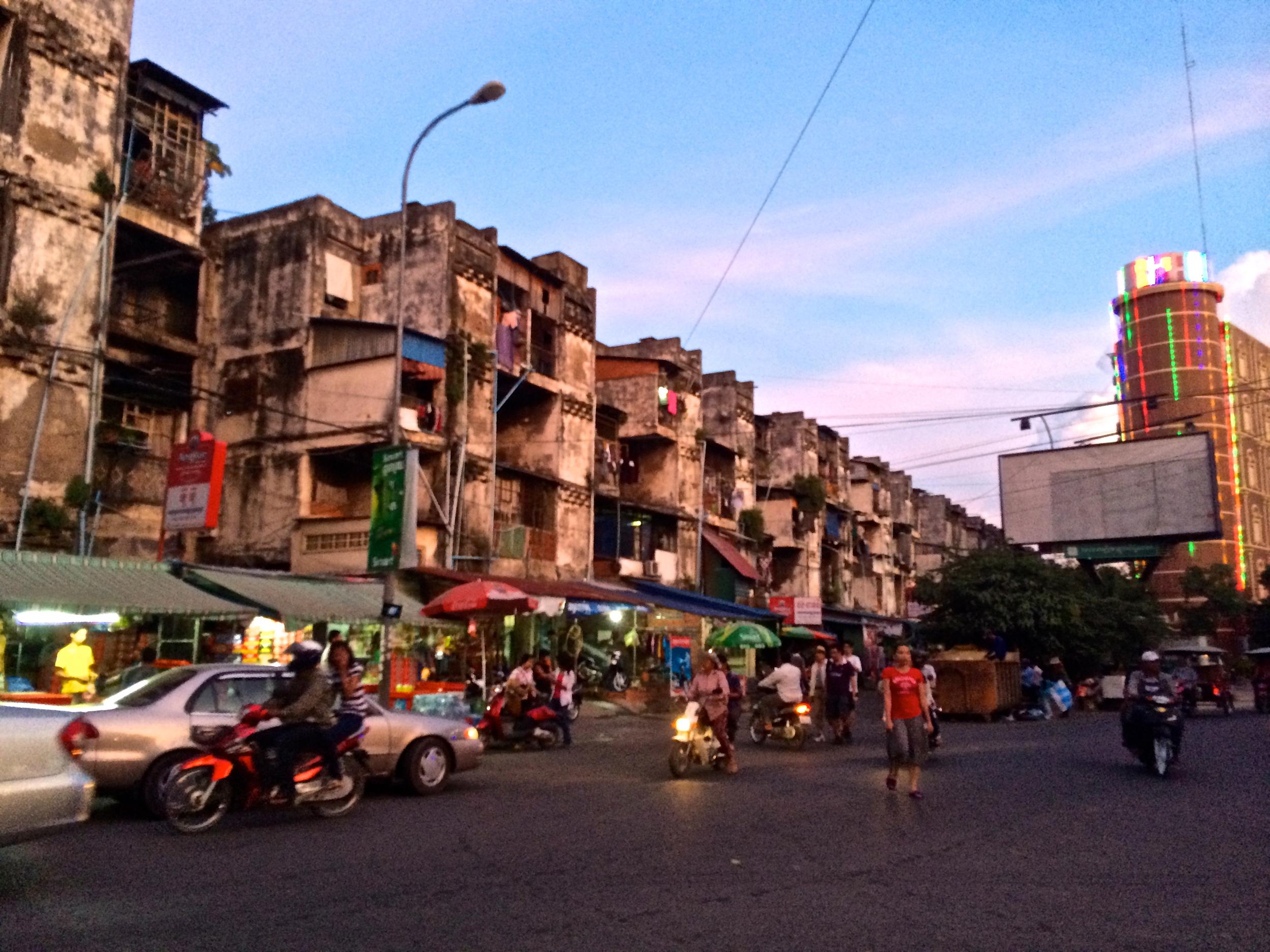 "Phnom Penh's ""White Building"""