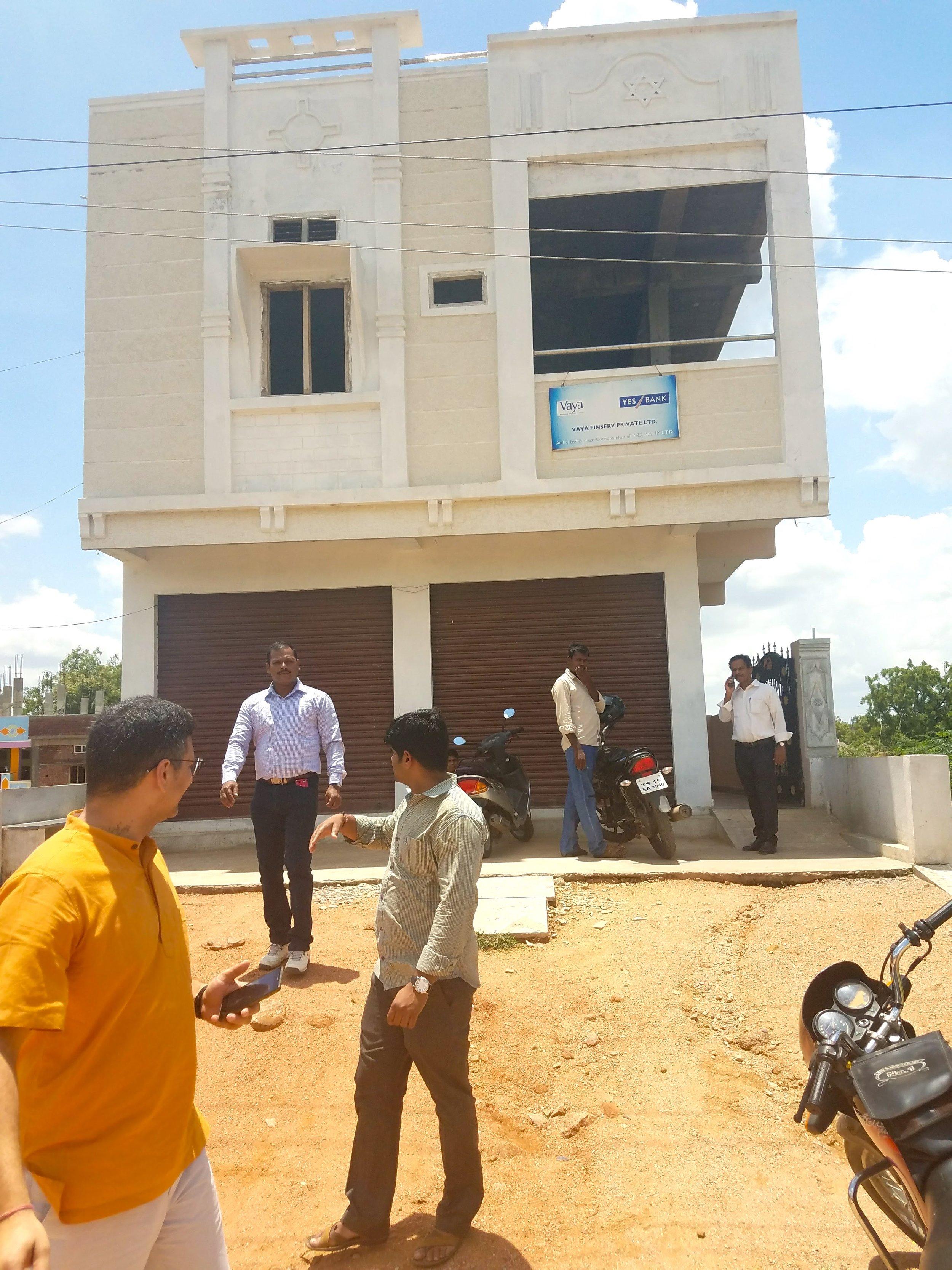 The local Vaya Branch Office in Narayankhed, Telangana./ June 21, 2017