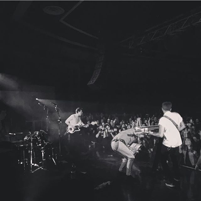 Regram from @evanmidds, tonight in Buffalo.