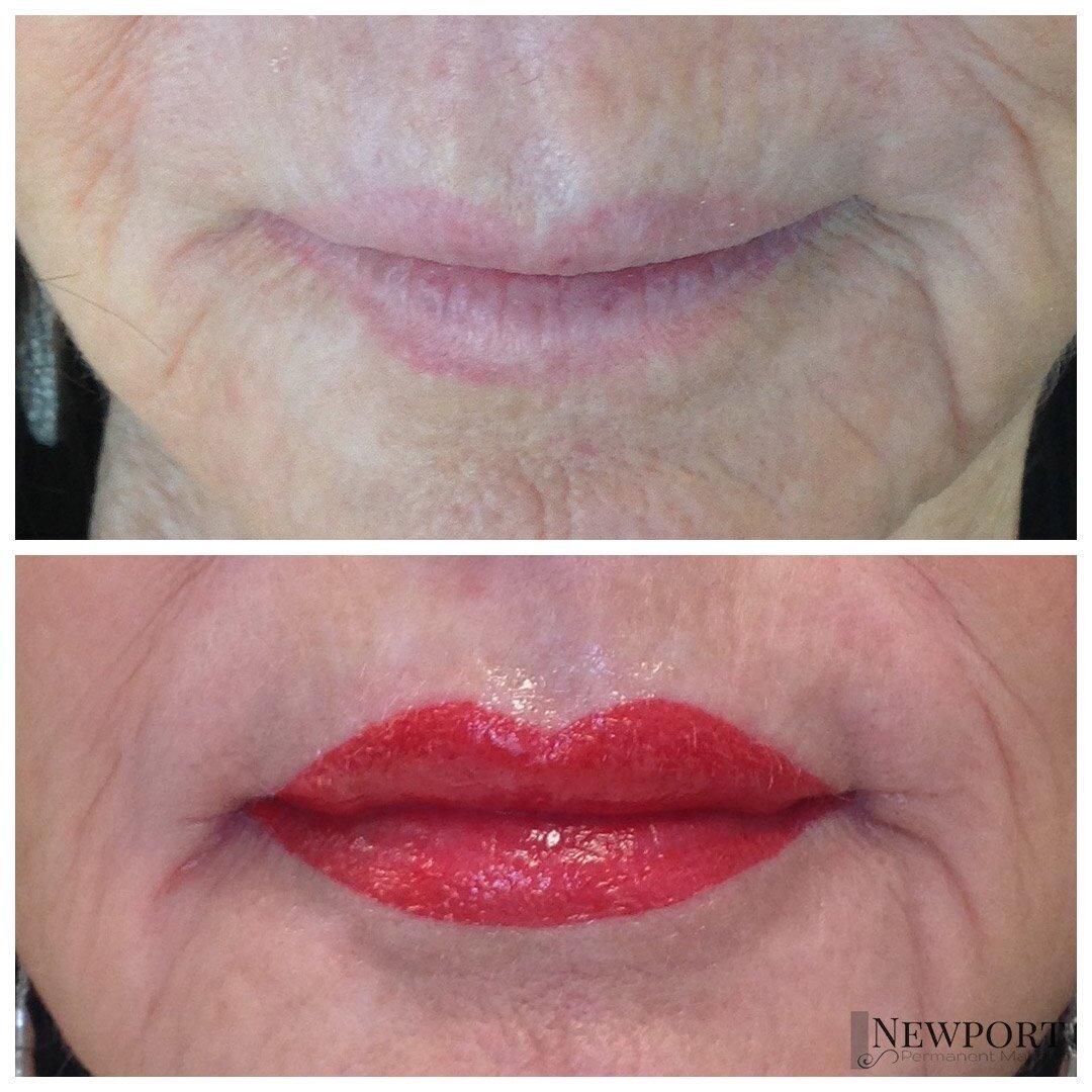 Lips Newport Permanent Makeup