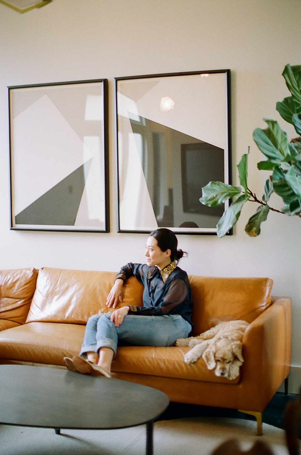 Susan in her San Francisco home.