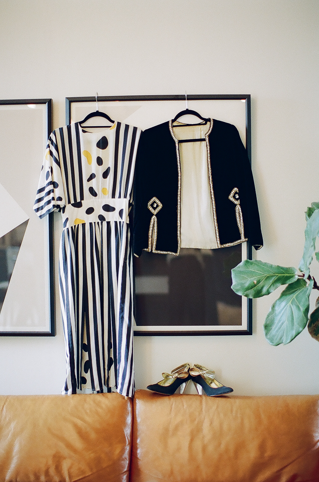 I love how bold and architectural Susan's vintage is!