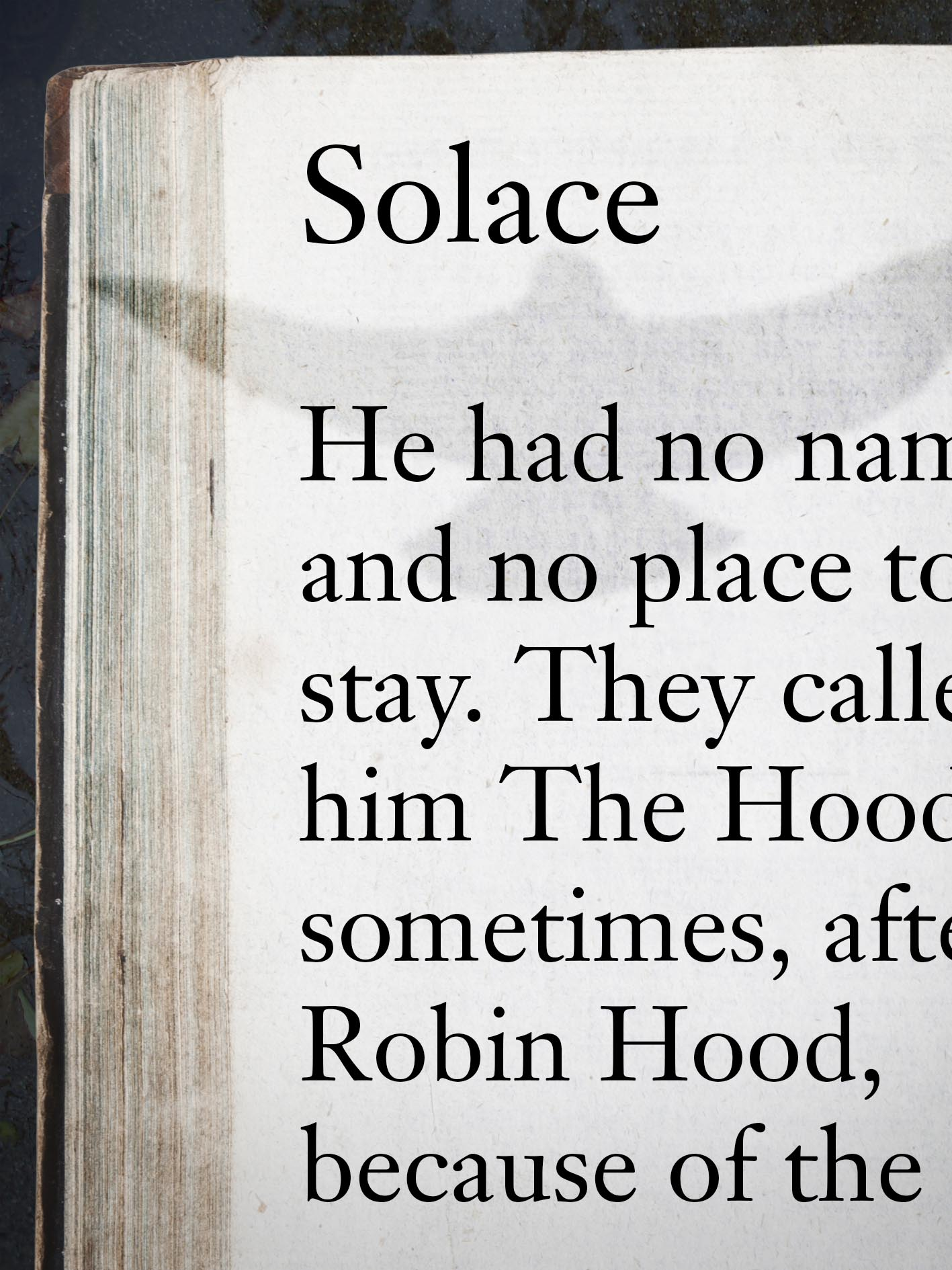 Solace - A homeless man, who has searched for God all his life, enters church on a rainy day.