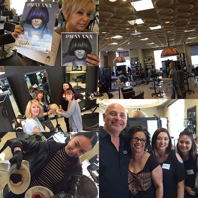 Great Vivids class with a great team of stylists!!
