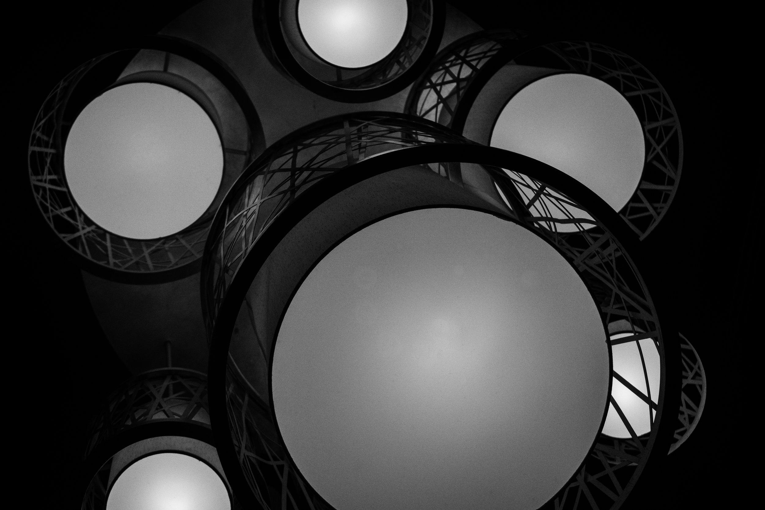 Abstract Light Fixtures