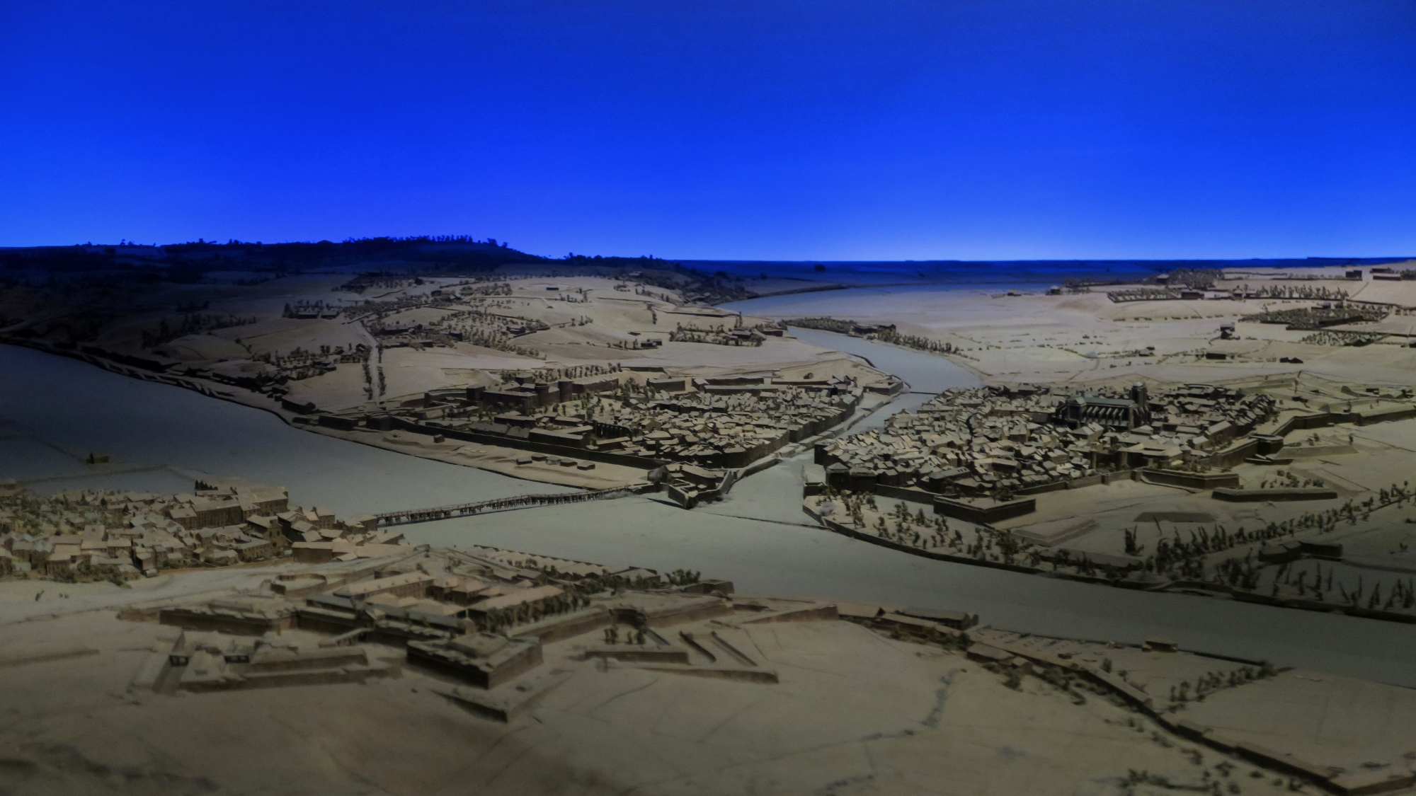 Relief Model of Bayonne, now in Les Invalides