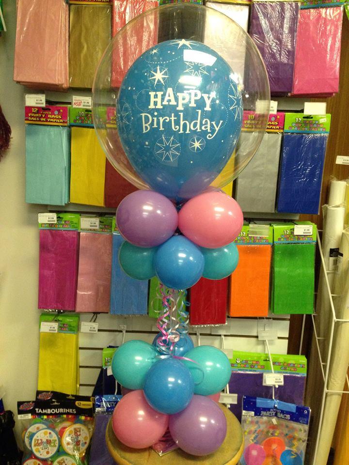 Frozen Themed Birthday Party Centerpiece
