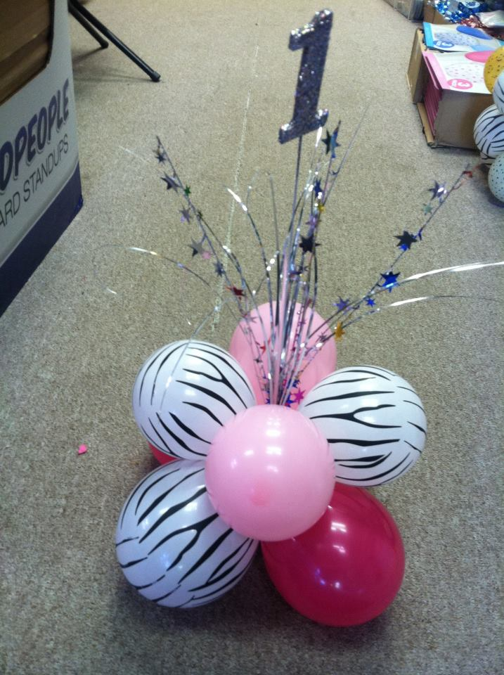 $12.99 1st Birthday Table Top Centerpiece