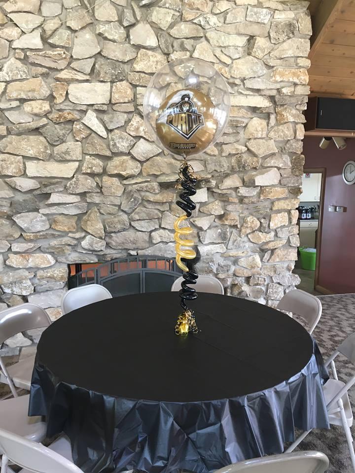 Purdue Balloon arrangment