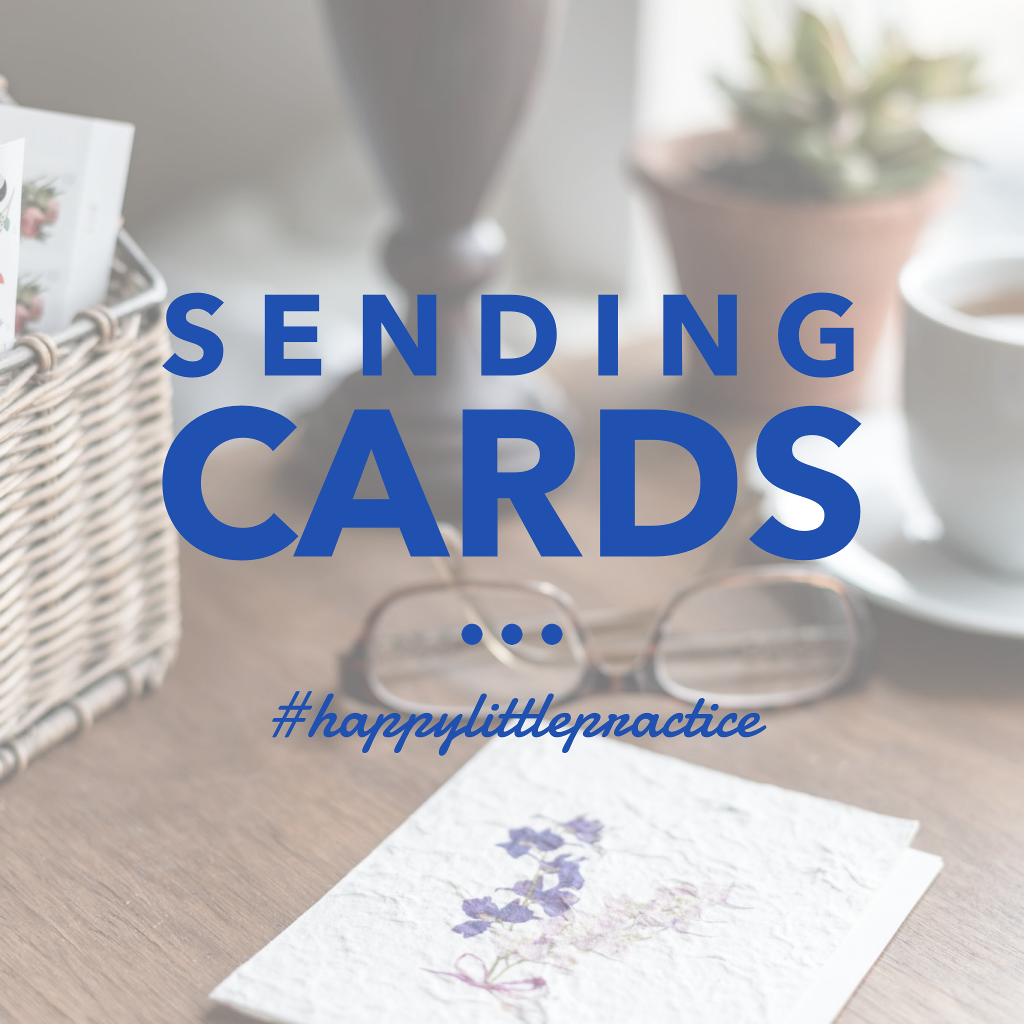 Sending cards to clients