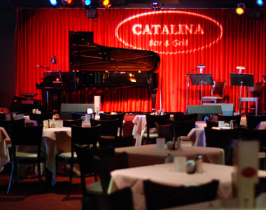 """Gordon Goodwin's Big Phat Band  Live at Catalina Jazz Club  MONDAY, DECEMBER 14 @ 8:30 PM  Catalina Bar & Grill has certainly lived up to its slogan """"Nothing But The Best In Jazz"""" by presenting a veritable Who's Who of jazz legends such as Dizzie Gillespie, Art Blakey, McCoy Tyner, Chick Corea, Ray Brown, Joe Williams, Max Roach, Carmen McRae, Betty Carter, Ron Carter, Joe Henderson, Benny Carter, Tony Williams, and many more.  Dinner or two drinks minimum required in addition to the tickets.Doors open for dinner 1 1/2 hour before the first show and 1/2 hour before the second show if there is a second show.Ticket sales are final."""