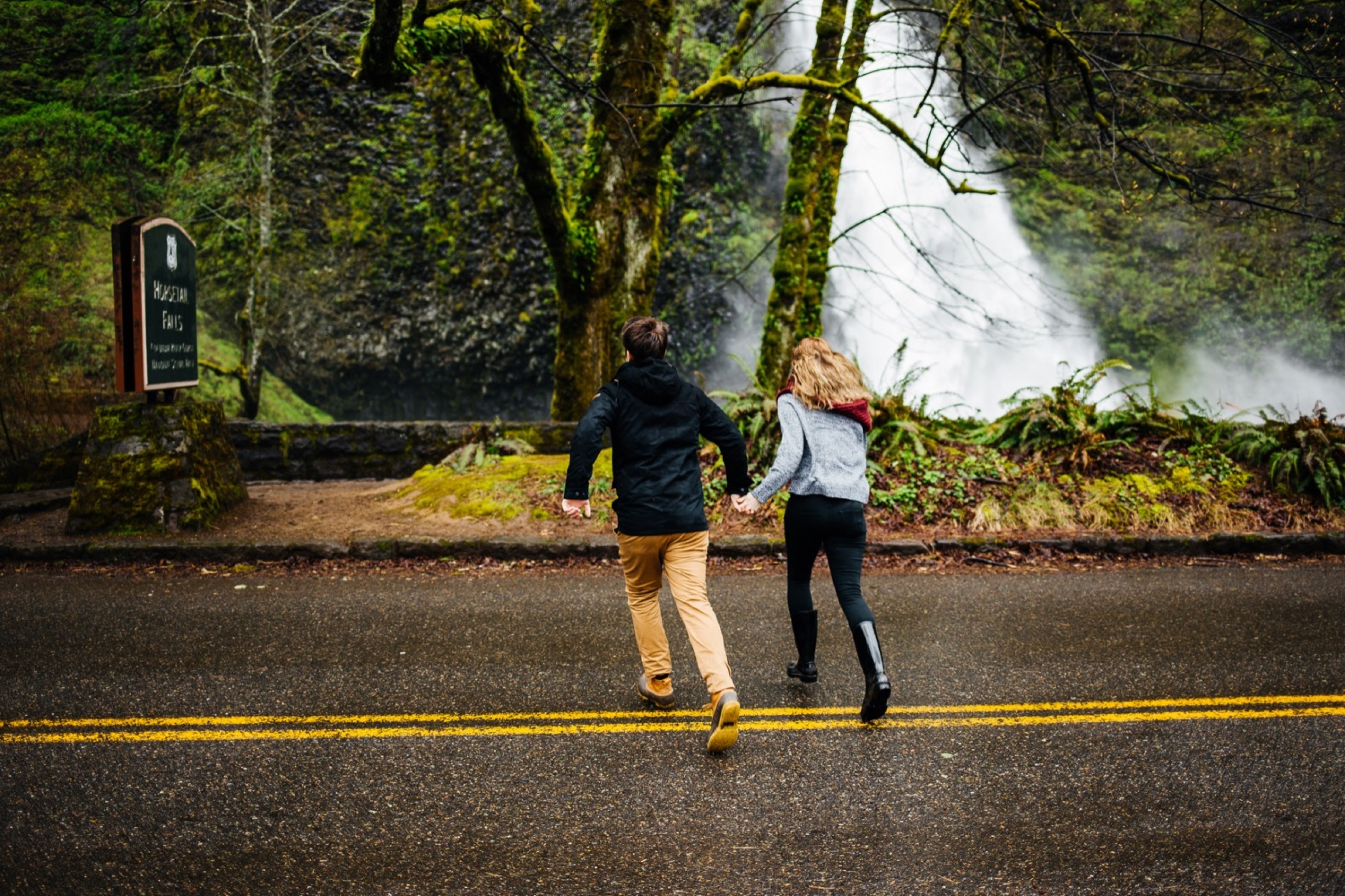 Waterfall Engagement Photos at the Columbia River Gorge Portland, Engaged, Engagement, She Said Yes, He Put a Ring on It, How He Asked, Horse Trail Falls, Horse Trail Waterfall Portland, Oregon Waterfall,, Columbia River Gorge Engagement Photos, Portland Waterfall, Portland Oregon Engagement Photos, Oregon Engagement Photographer, Portland Engagement Photographer, Portland Engagement Photography, Where to Take Engagement Photos in Portland, Candid Engagement Photos, Romantic Engagement Photos
