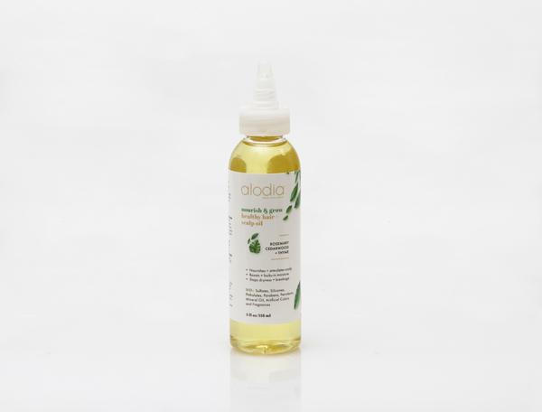 Alodia Nourish & Grow Healthy Hair and Scalp Oil - This hair oil has been instrumental in the growth of my natural hair. Dr. Chambers has created an excellent light-weight oil that meets my hair needs by locking in moisture, stimulating my scalp, and stopping breakage which is key for hair retention. Click here for details
