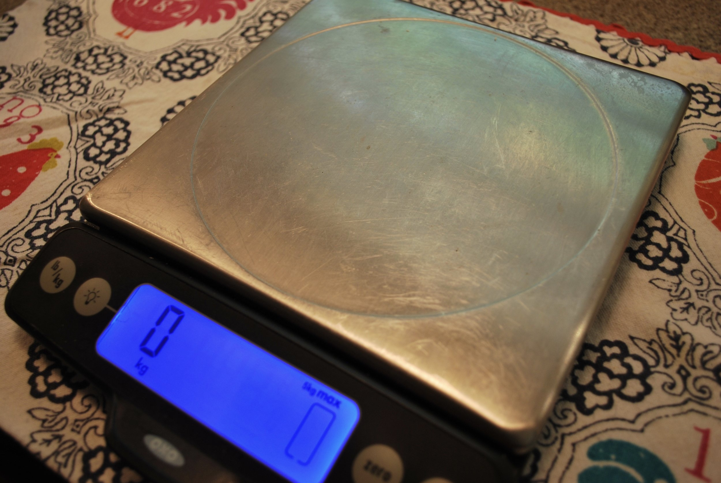 OXO Good Grips Stainless Steel Food Scale wi/Pull-Out Display