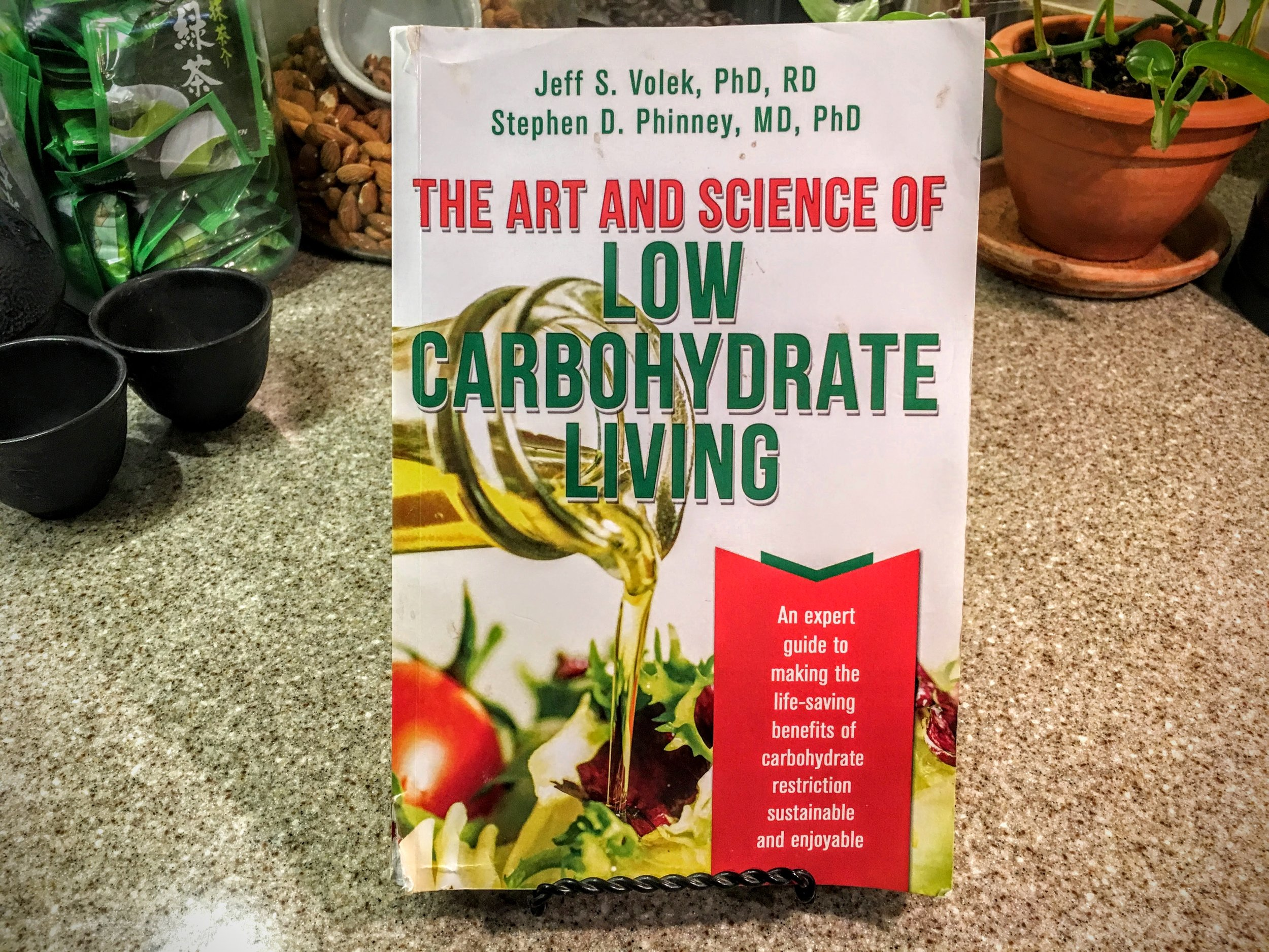 The art & science of low carbohydrate living   MY COPY OF THIS BOOK IS WELL THUMBED. I RETURN TO IT OFTEN, ALTHOUGH ORIGINALLY STARTED BY THE AUTHORS AS A BOOK FOR MEDICAL DOCTORS ABOUT THE LOW-CARB PROTOCOL, THEY REALIZED THAT IT WOULD BE VALUABLE TO MOTIVATED LAY PEOPLE WHO WANT TO BE WELL INFORMED. IT BREAKS THE SCIENCE DOWN INTO MANAGEABLE BITS.