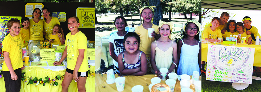 Photo credit: Alex's Lemonade Stand. Click the photo for more information about holding your own lemonade stand.