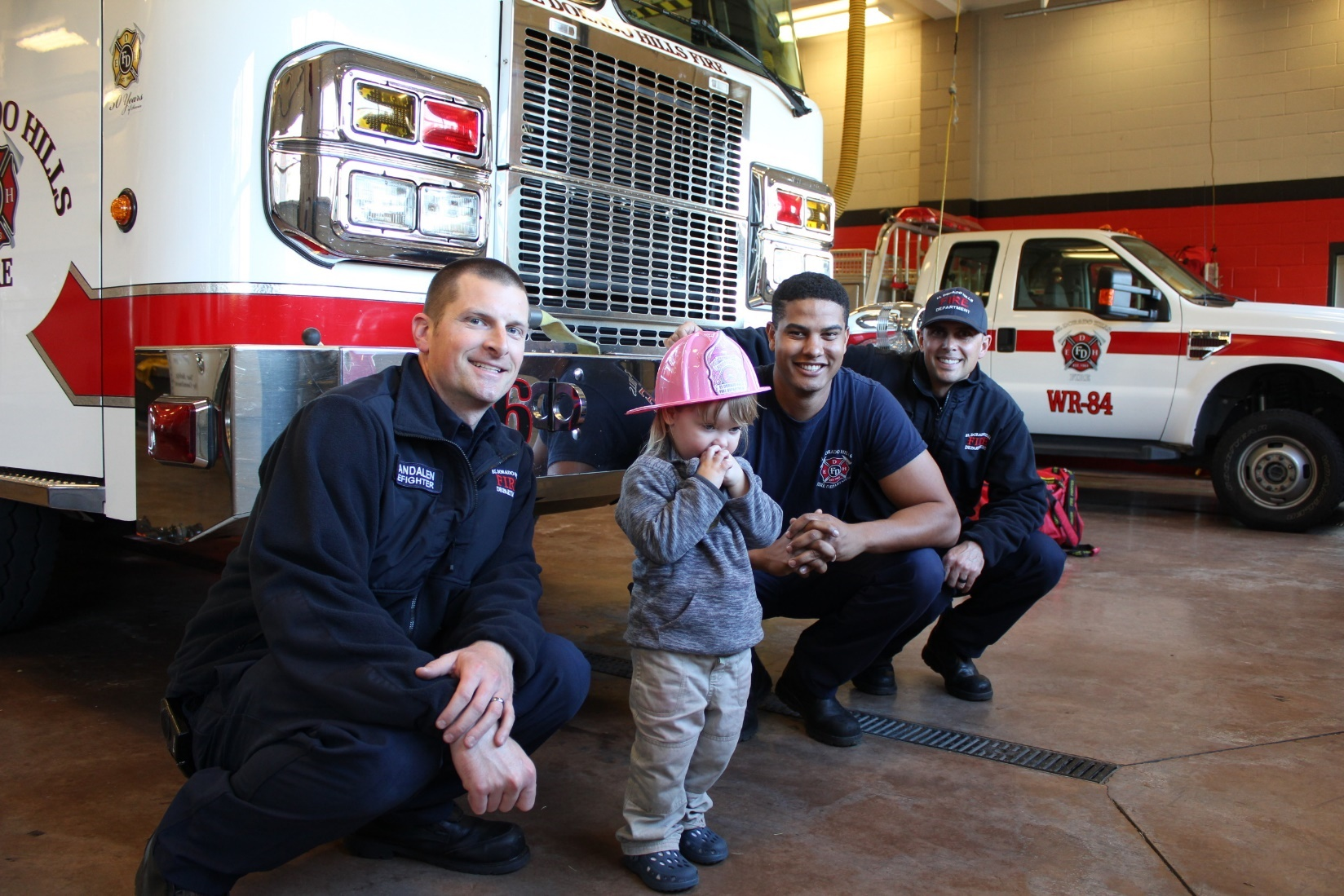 March 16 Treats to Fire Fighters