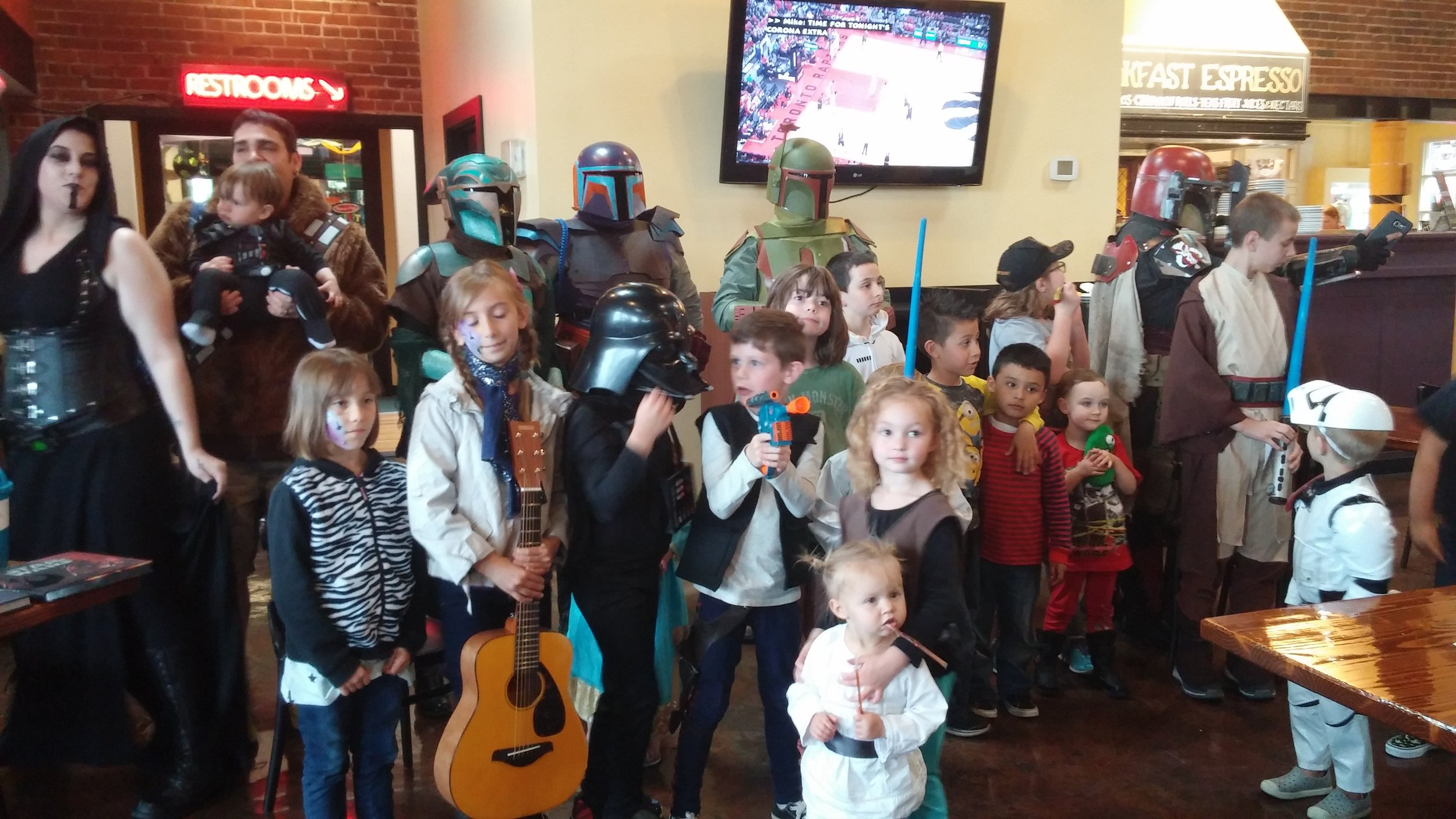 May 21 Star Wars Service Party