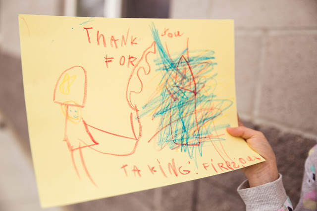 """""""Thank you for taking fires out"""""""