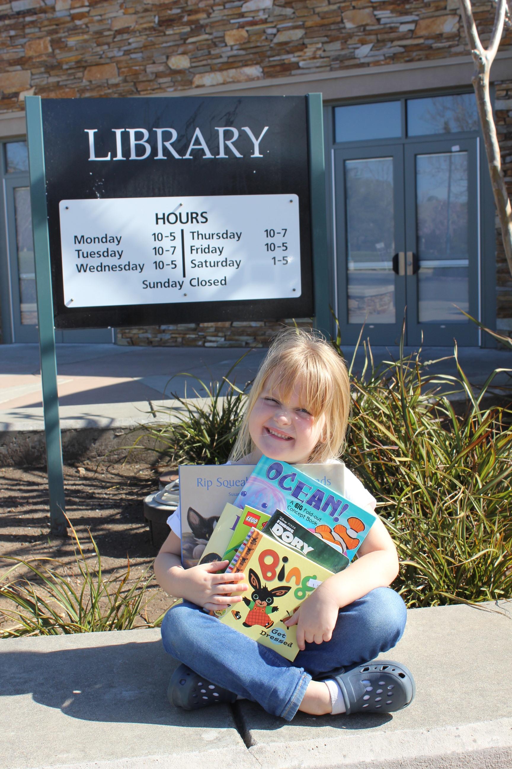 Giving our books a goodbye hug!