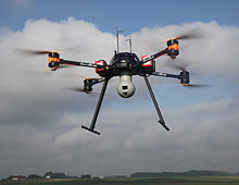 UAV - unmanned aerial vehicles