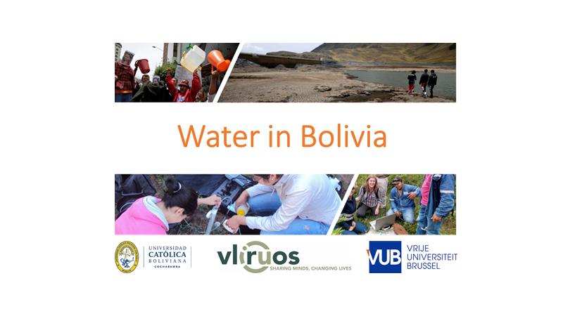 HYDR event - 'Water in Bolivia'