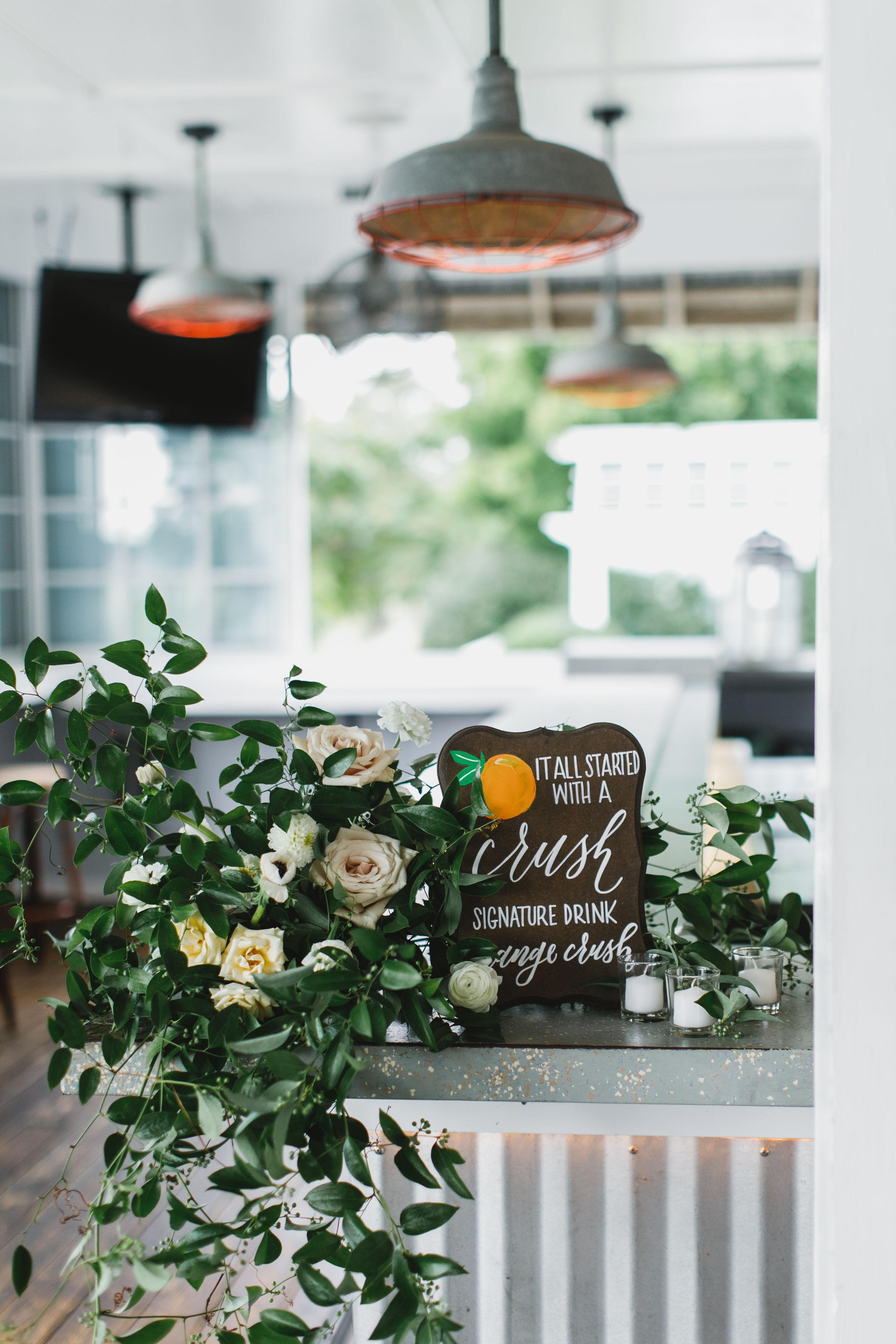 Sophie Felts Floral Design | M+ P at Chesapeake Bay Beach Club