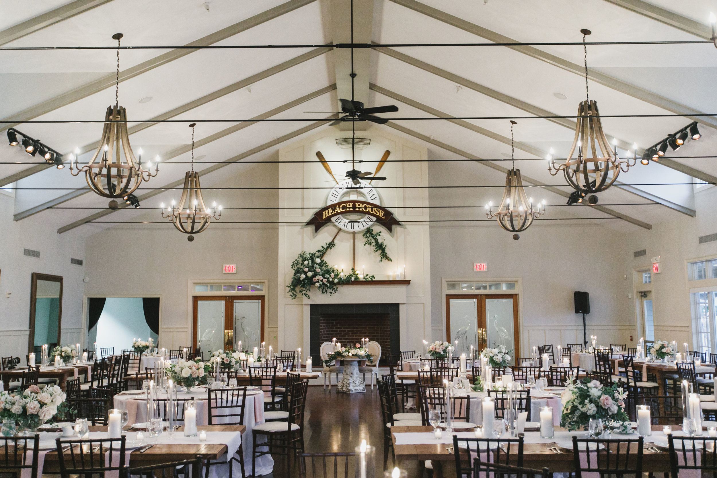 Sophie Felts Floral Design | M+ P at Chesapeake Bay Beach Club