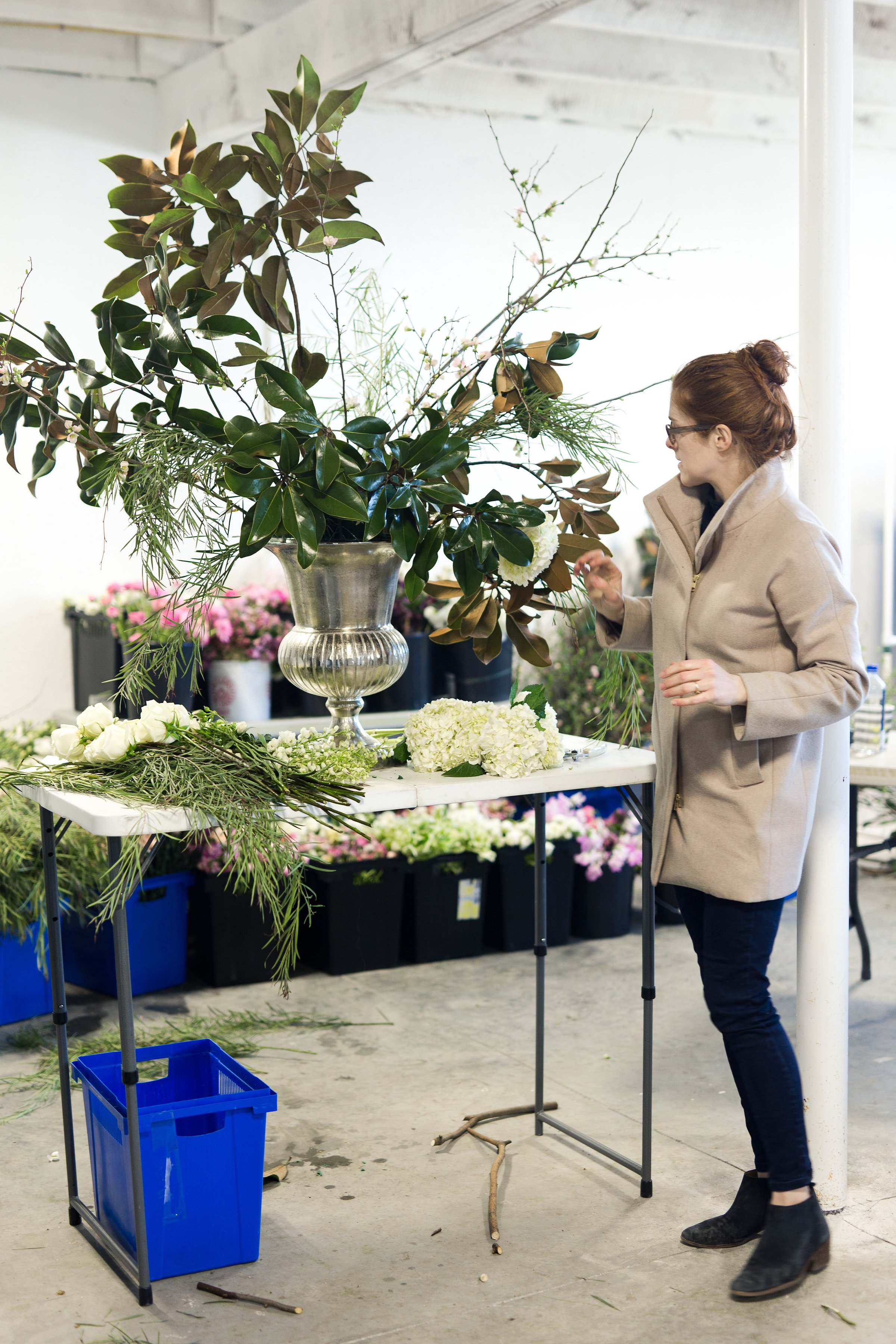 Sophie Felts Floral Design | Flower Freelance Intensive | DC Wedding Florist | Maryland Wedding Florist | DC Floral Workshop | DC Flower Workshop |