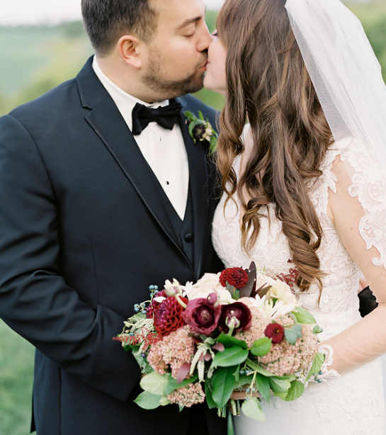 A+T at Shadow Creek | Sophie Felts Floral Design | DC Wedding Florist | Fall Wedding |