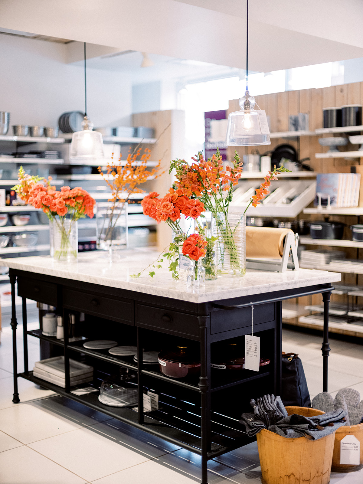 Crate + Barrel Private Registry Event | DC Wedding Florist | Sophie Felts Floral Design |