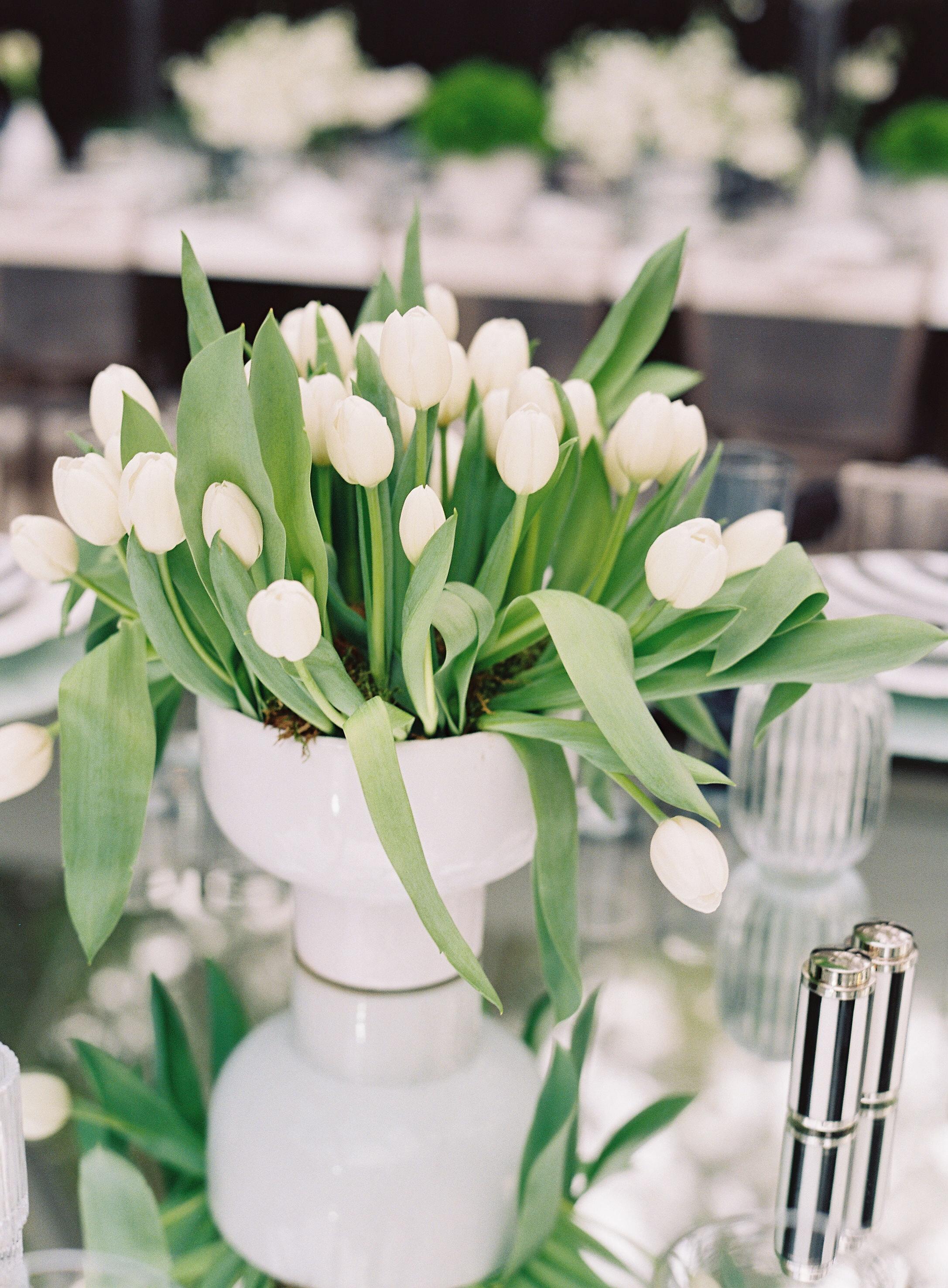 Black And White Sophie Felts Floral Design
