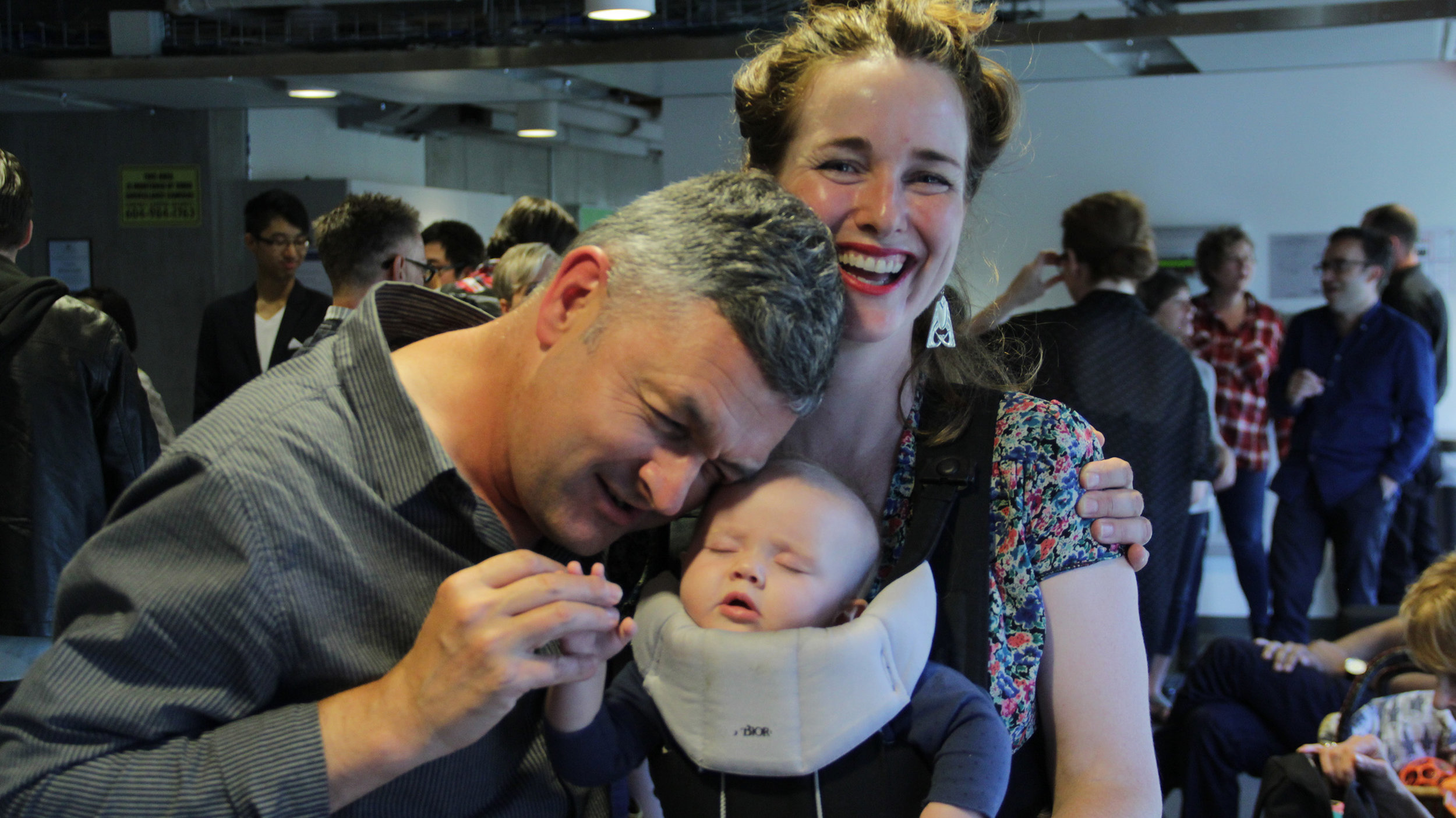Gareth Moses, Erin Ryan and Fleur Simon