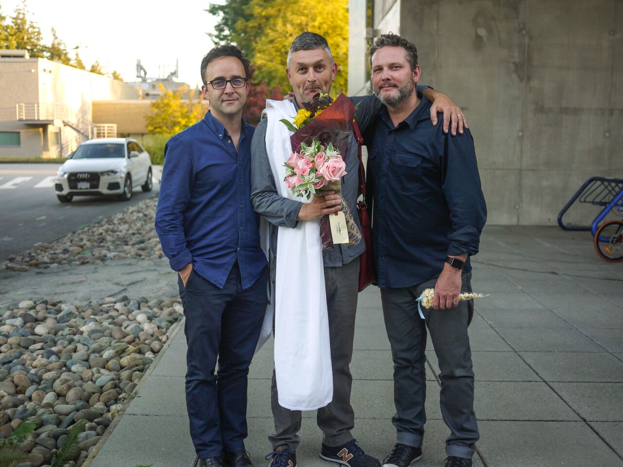 Matthew Griffiths, Gareth Moses, Christian Allen